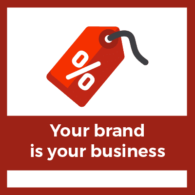 growing an online business means your brand is your business